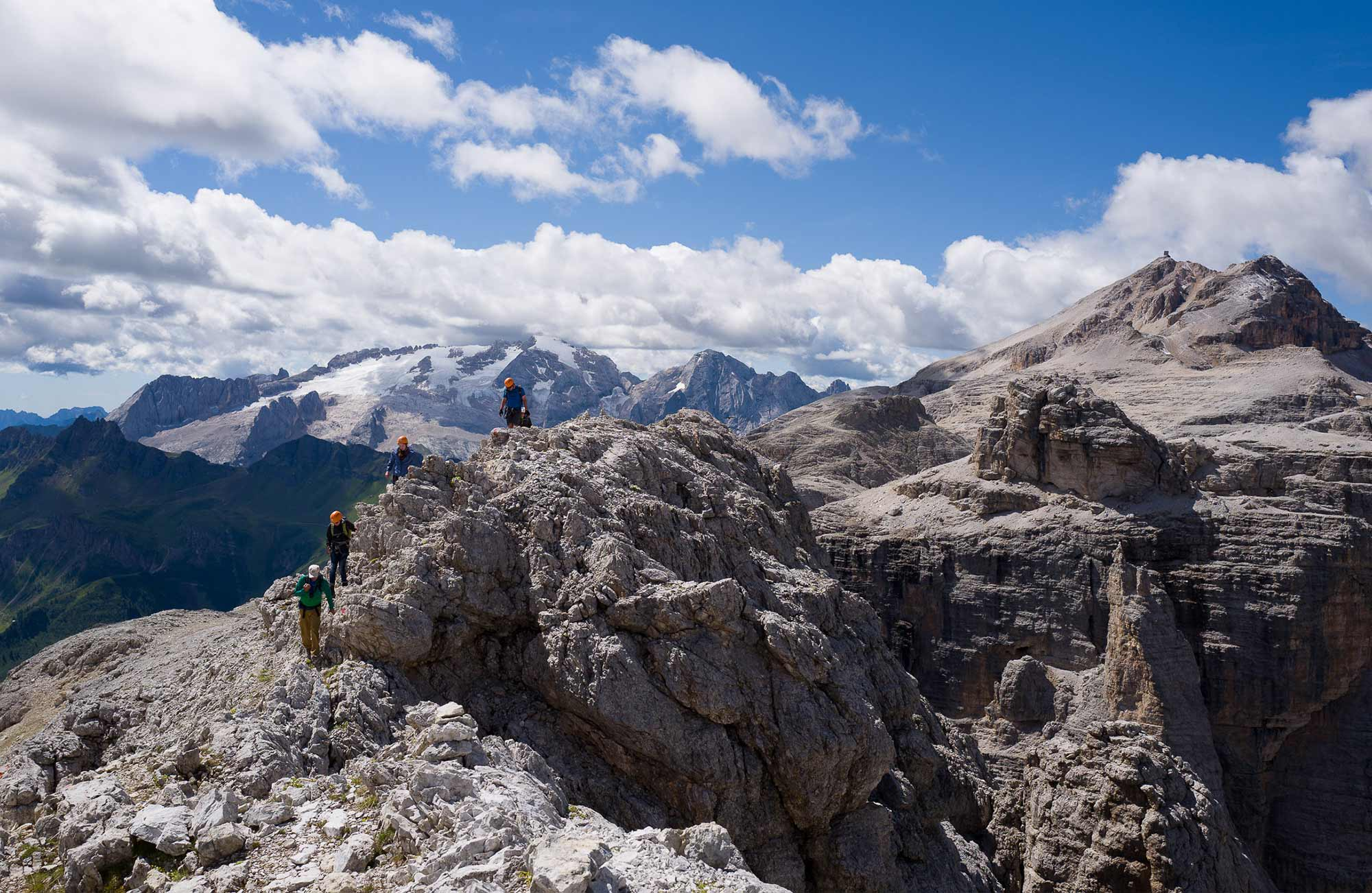 Trekking in the Dolomites